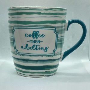 Threshold Kitchen - Coffee Then Adulting Jumbo Coffee Mug 24oz